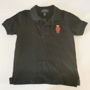 *3/$10* Ralph Lauren Polo Bear Logo Collar Shirt